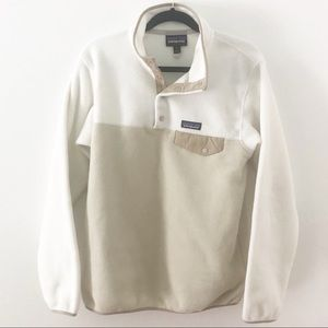 Patagonia Synchilla 2 toned Pullover Fleece Jacket